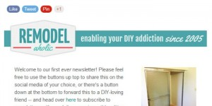 feature remodelaholic newsletter.bmp
