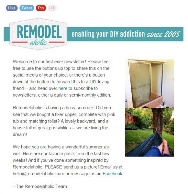 remodelaholic newsletter.bmp