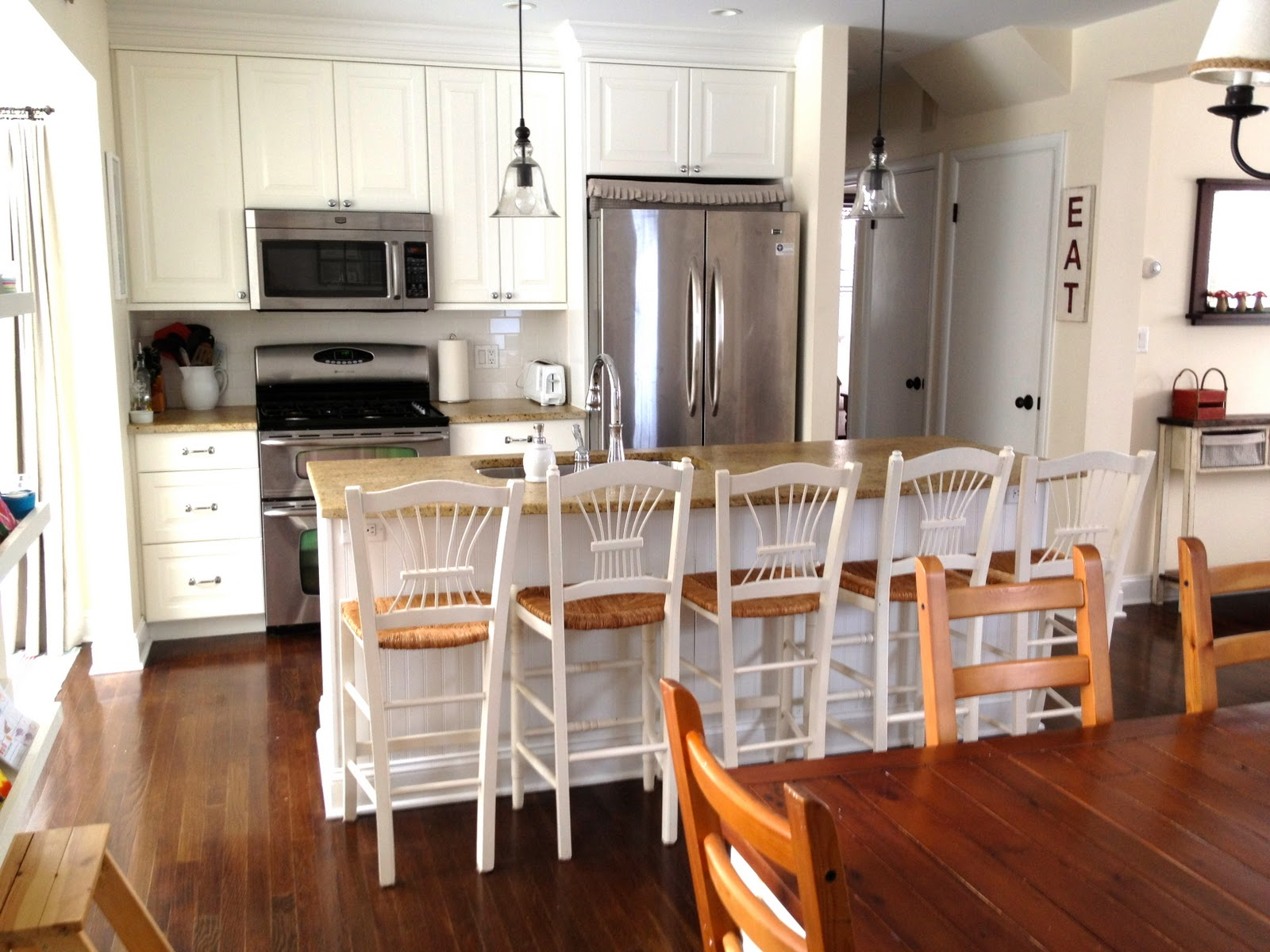 White Galley Kitchen With Island Remodelaholic  Popular Kitchen Layouts And How To Use Them