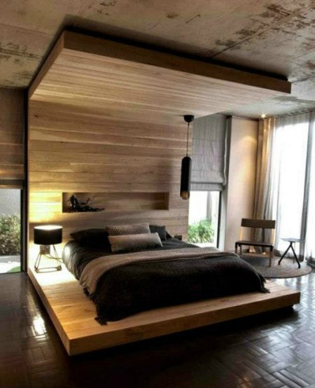 Wood Canopy Beds remodelaholic | 25 beautiful bed canopies you can diy