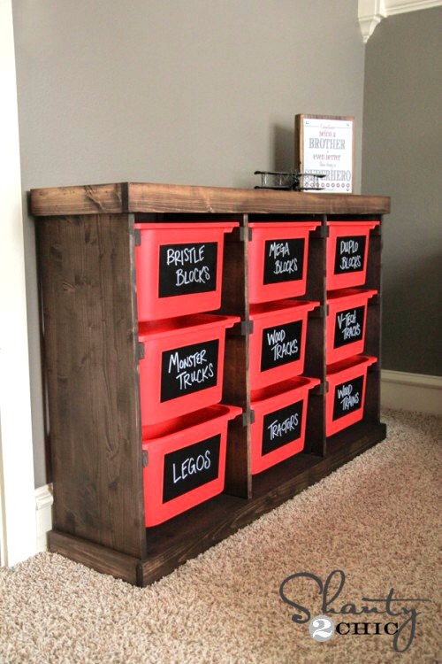 DIY Storage Idea for Toys