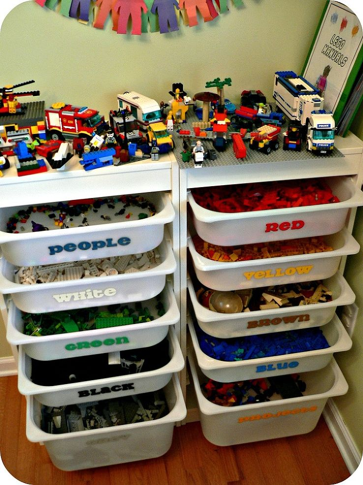 Remodelaholic 50 Smart Toy Storage Solutions