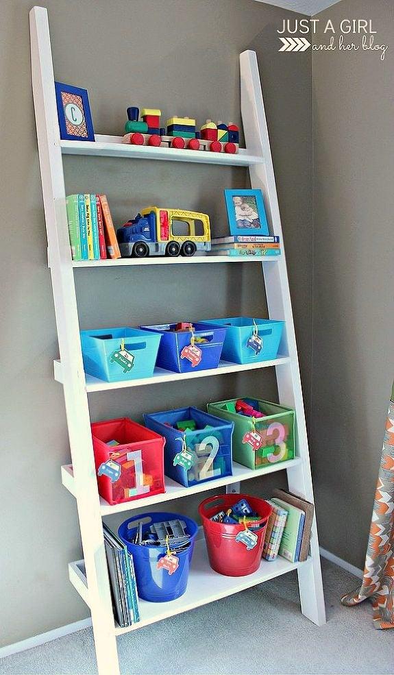 Shared Big Boy Room Storage For Toys