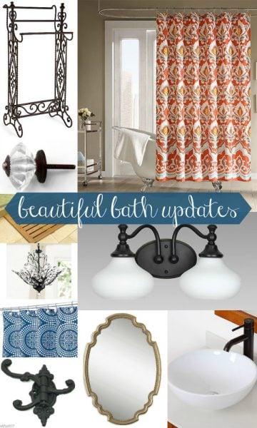 Beautiful Bath Updates by Remodelaholic