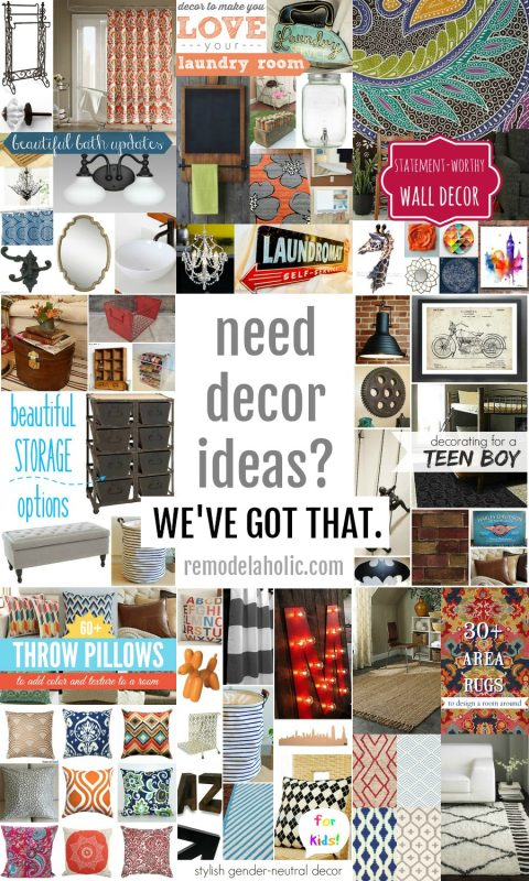 Stuck in a decorating rut? Try these decor ideas from Remodelaholic.com #homedecor
