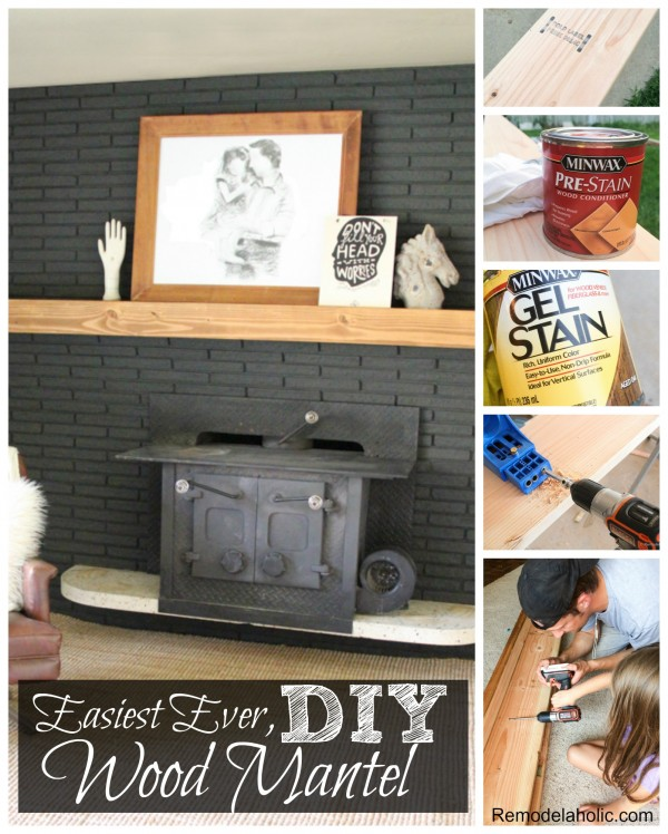 How To Build A Solid Wood Mantel