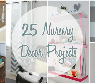 25 Nursery Decor Projects