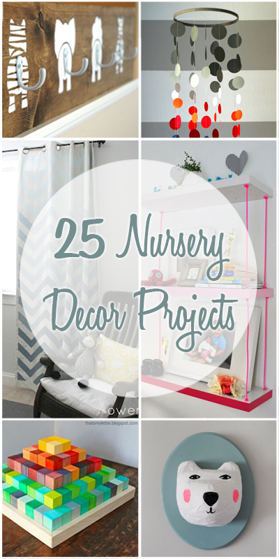 Remodelaholic 25 Nursery Decor Projects