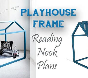 Playhouse Frame Reading Nook