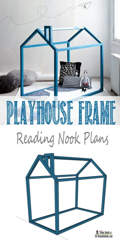 Playhouse Reading nook plans