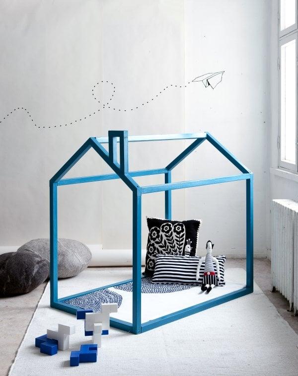 Blue Playhouse frame