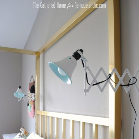 diy accordion lamp ikea frack mirror13