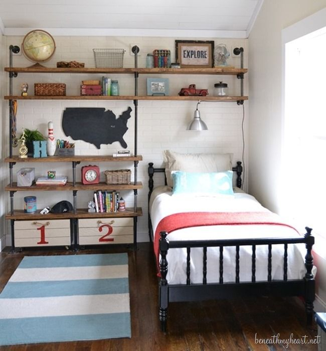 Beau Boyu0027s Bedroom Inspiration Via Remodelaholic.com