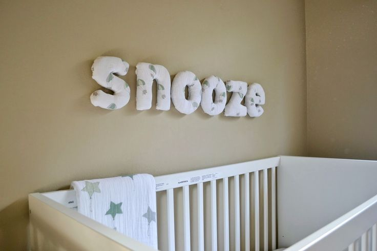 Remodelaholic 25 nursery decor projects for Fabric covered letters for nursery