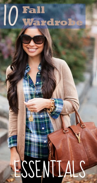 10 Fall Wardrobe Essentials