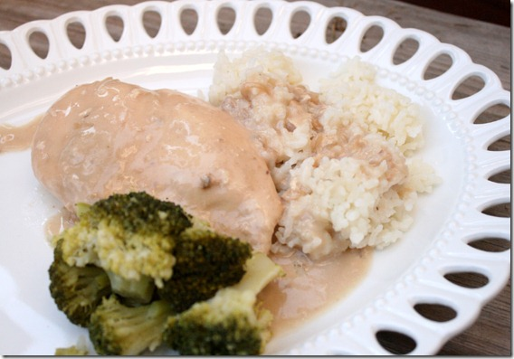 3-Ingredient Crock Pot Chicken