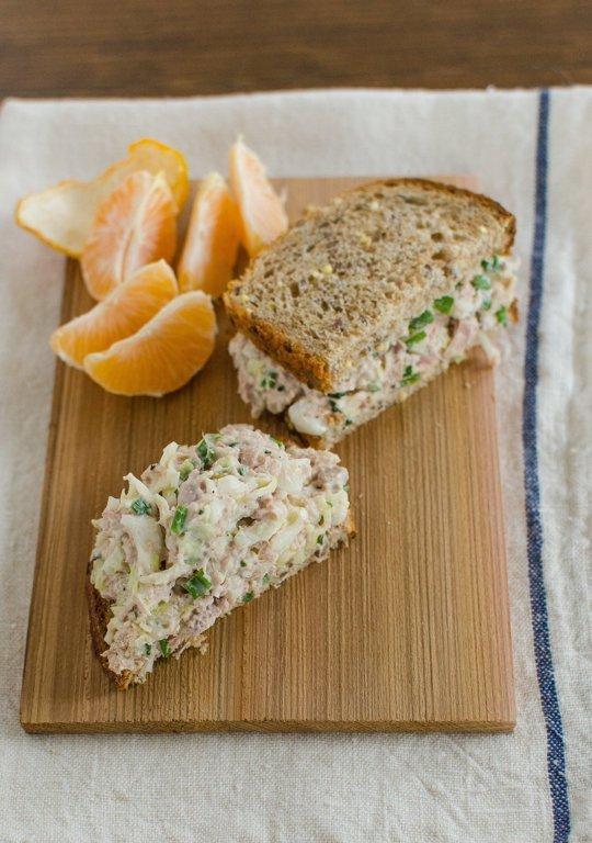 Crunchy Tuna Cabbage Salad