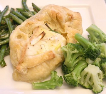 Tilapia in Puff Pastry