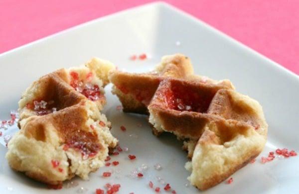 Waffle Iron Sugar Cookies