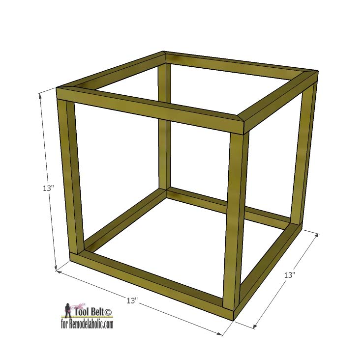 how to make a wooden cube - Design Decoration