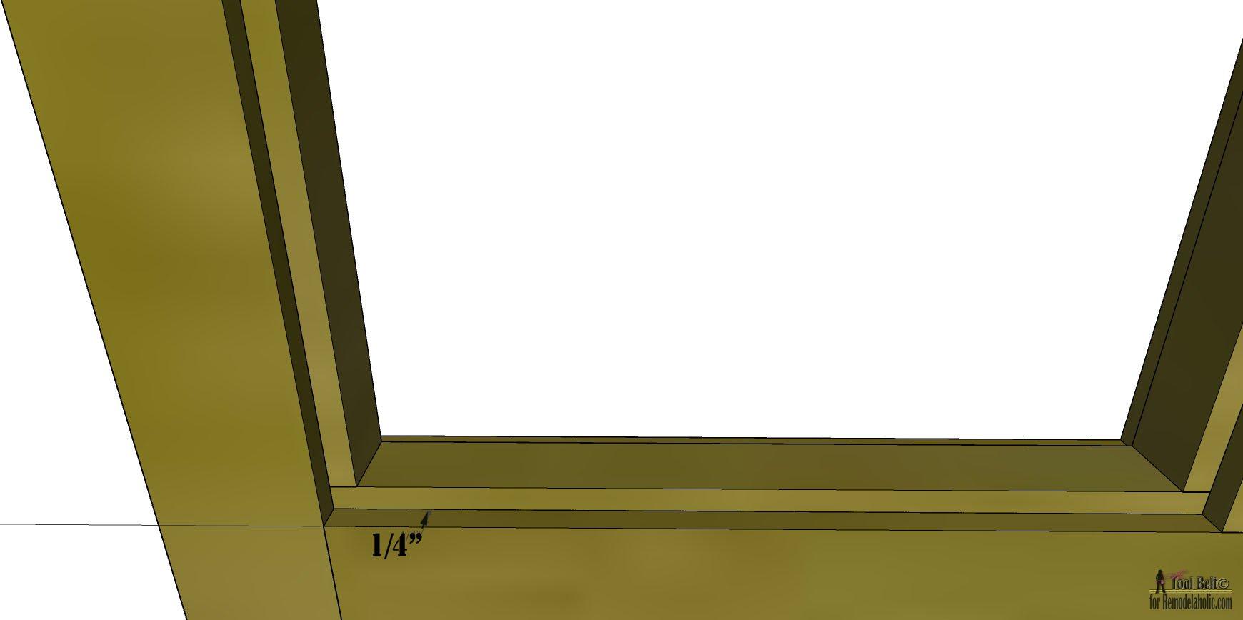 Remodelaholic | Build It: 6-Pane Decorative Window