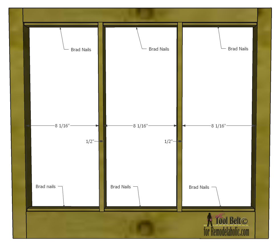 Remodelaholic build it 6 pane decorative window free plans and tutorial to build a diy 6 pane window frame like those old vintage jeuxipadfo Image collections