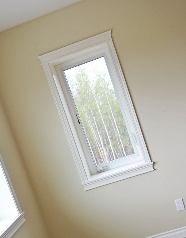 Windows Without Molding : White window molding joy studio design gallery best