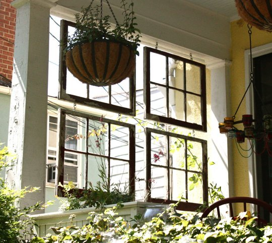 Dirt Cheap Apartments For Rent: 100 Ways To Use Old Windows