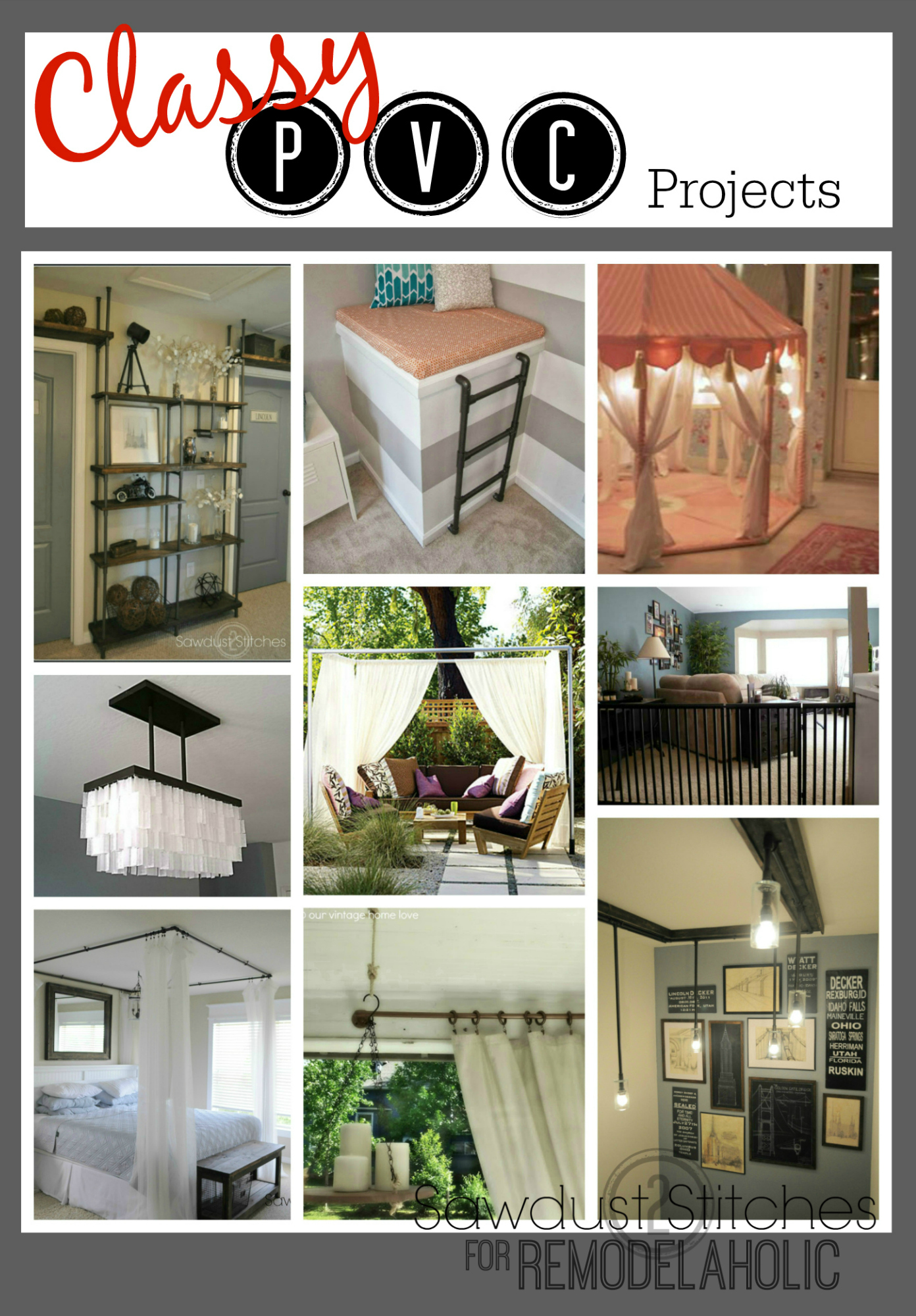 pvc projects If you like to build things and save some money along the way, here is a collection of the best pvc projects to update your homestead.