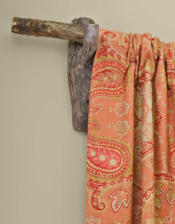 Country Living U2013 Natural Branch Curtain Rod