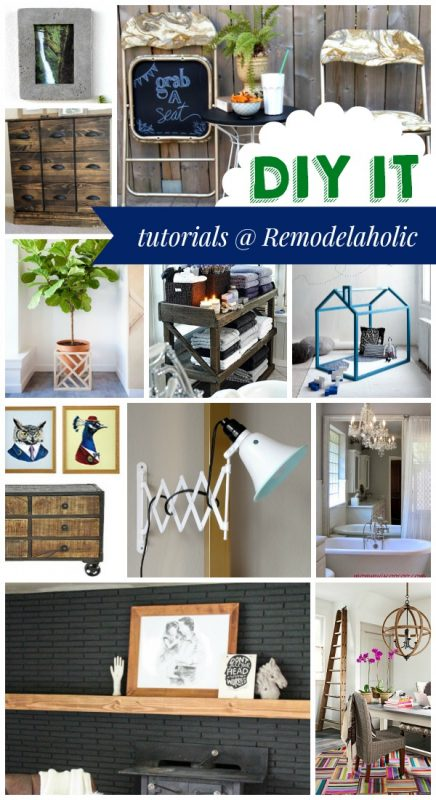 These DIY tutorials and more over at Remodelaholic.com #buildit #diy #homedecor