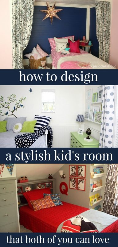 Designing a Stylish Kid's Room by Remodelaholic