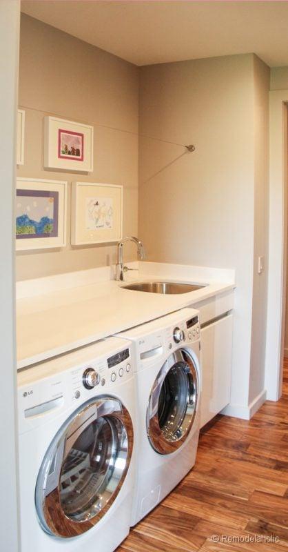 Laundry room ideas photo by ashley capp collect this idea laundry color 1 fabulous laundry - Fabulous laundry room cabinets ikea ...