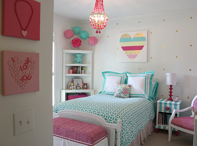 Remodelaholic Tips for Choosing Paint Colors For Childrens Rooms - Bedroom Diy Projects