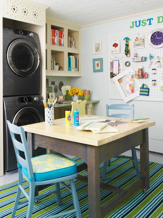 Hobby Room Design Ideas Part - 45: Hobby Room And Laundry Room