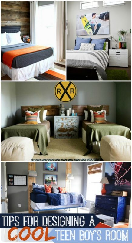 How to Design a Cool Teen Boy's Room by Remodelaholic