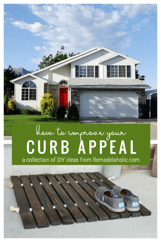 Increase Curb Appeal With These DIY Projects, Remodelaholic
