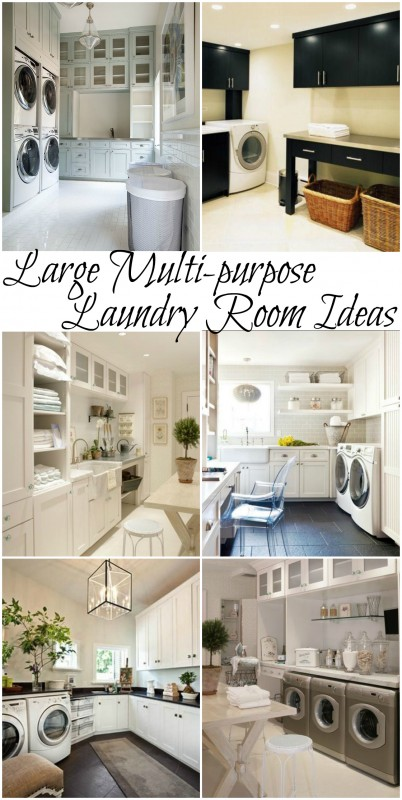 100 inspiring laundry room ideas for House plans with large laundry room