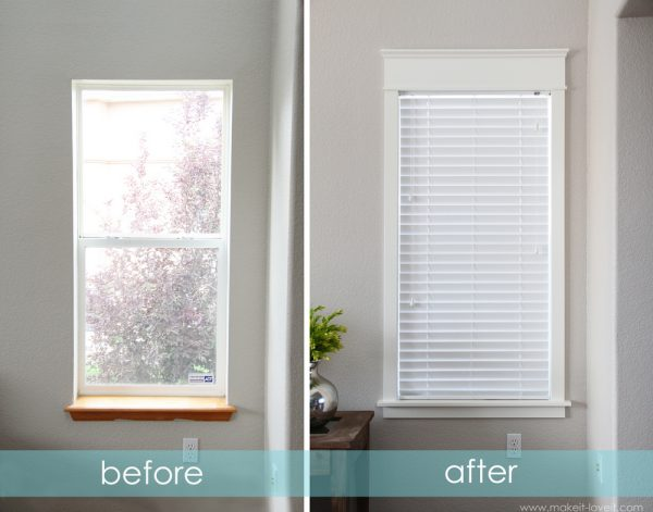 make it and love it how to trim a window and replace the sill via remodelaholic - Diy Window Frame