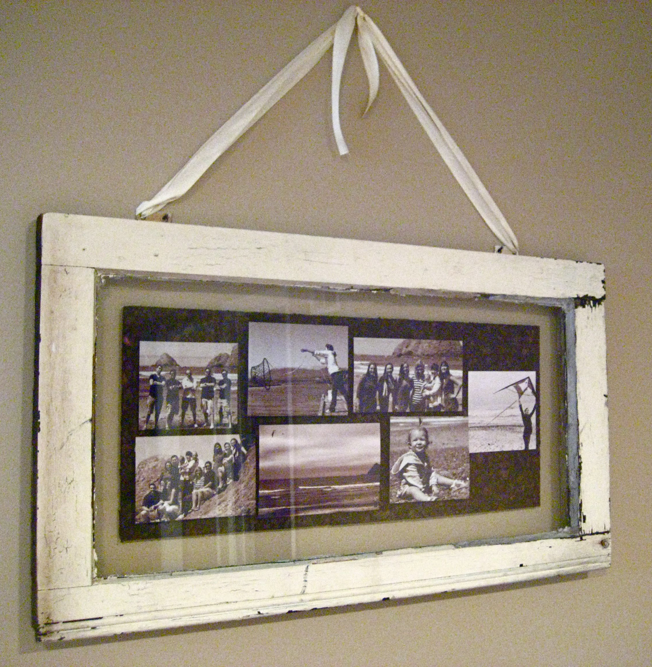 Remodelaholic 100 ways to use old windows for Vintage picture frame ideas