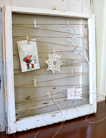 Remodelaholic 100 ways to use old windows for Fenster holzrahmen