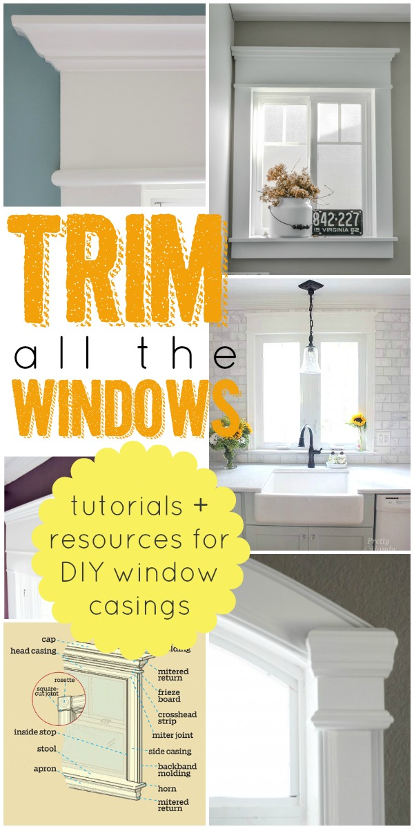 Remodelaholic | How to Frame a Window: Tutorials + Tips ...