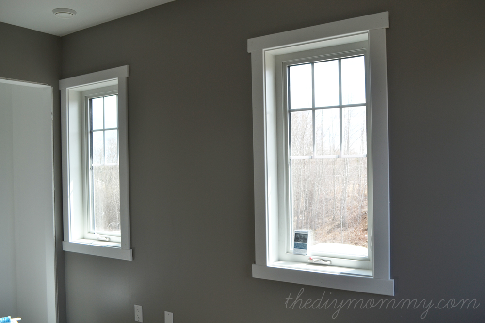 The DIY Mommy Super Simple Craftsman Window Trim Tutorial Via Remodelaholic