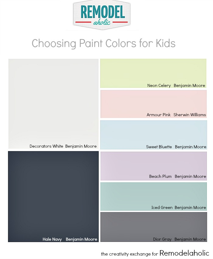 What Colors Are Calming remodelaholic | tips for choosing paint colors for children's rooms