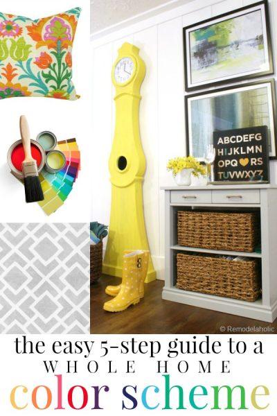 Whole Home Color Scheme