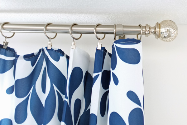 Remodelaholic Universal Tricks For Good Looking Curtain