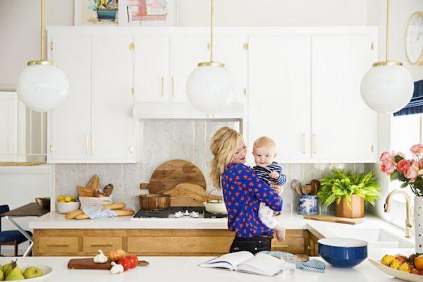Decorating with White @Remodelaholic - white kitchen Emily Henderson