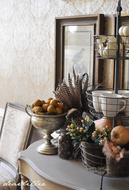 feathers for autumn decorating