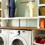 feature diy laundry unit, Seesaws and Sawhorses on Remodelaholic