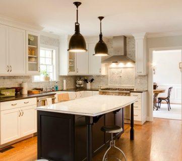 Gorgeous White Kitchen Renovation